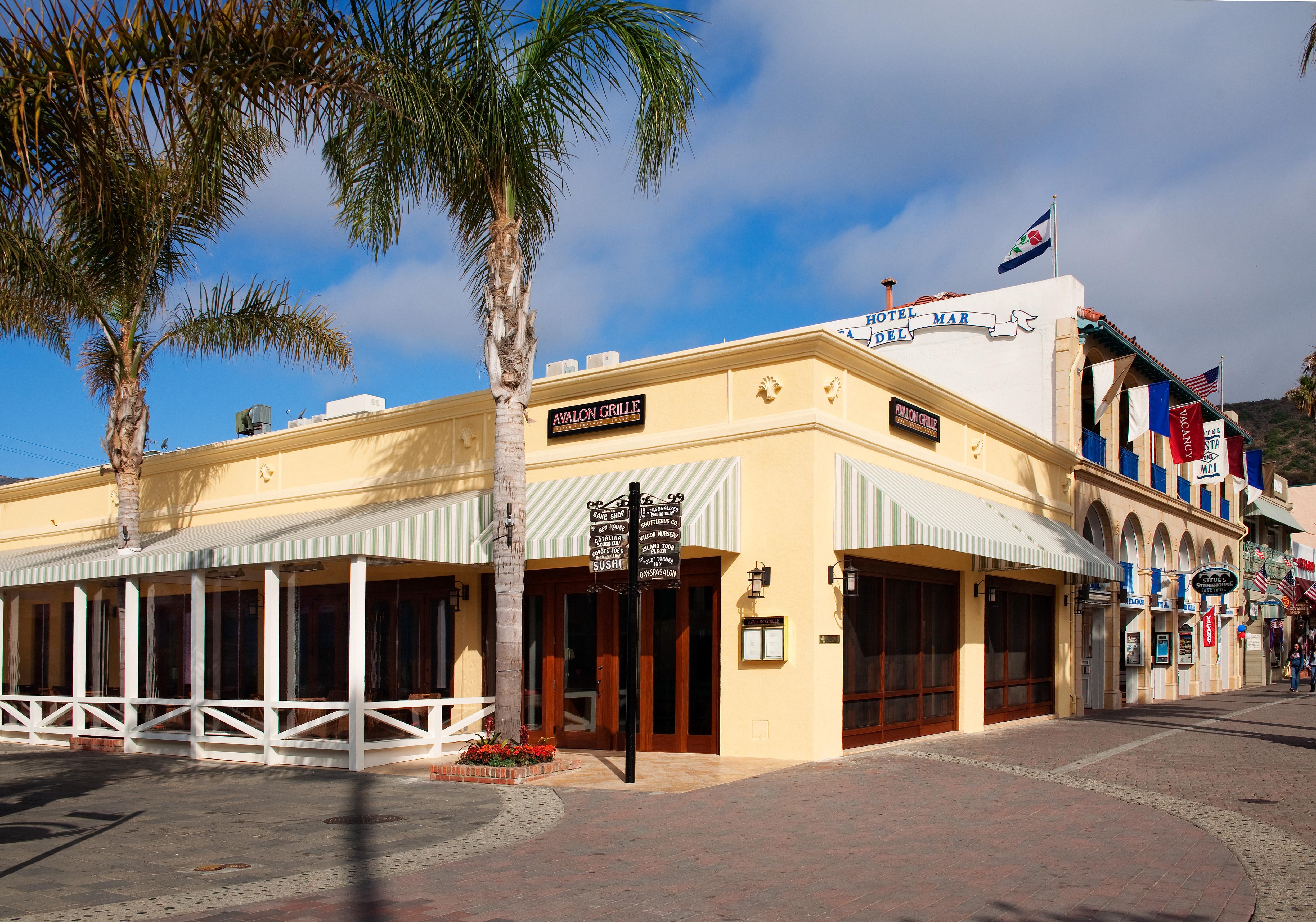 Avalon grille santa catalina island r d olson for Exterior restaurant design