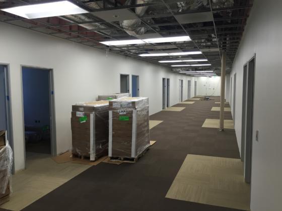 CUHS Post Carpet Installation