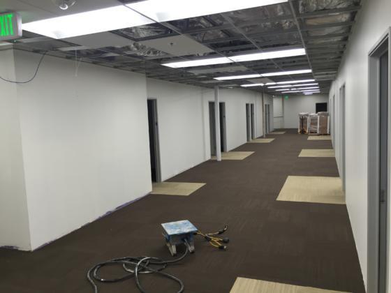 CUHS Carpet Installation