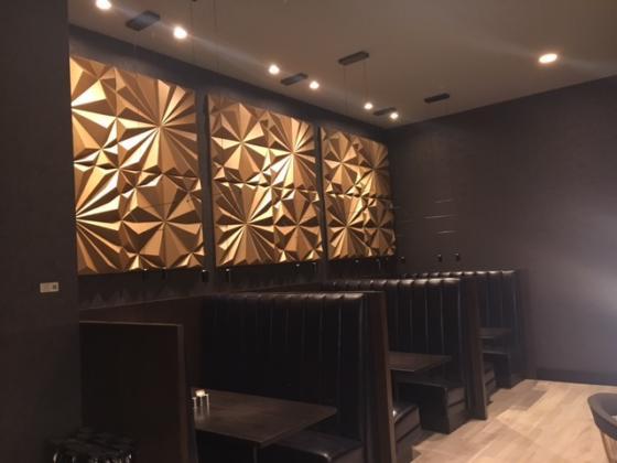 Restaurant Feature Wall