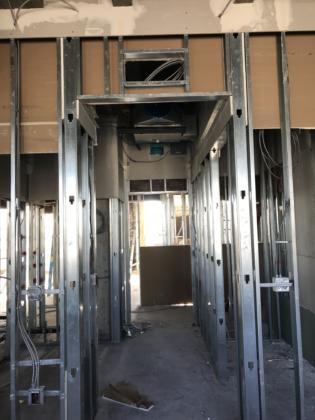 8th Floor Guestroom Framing