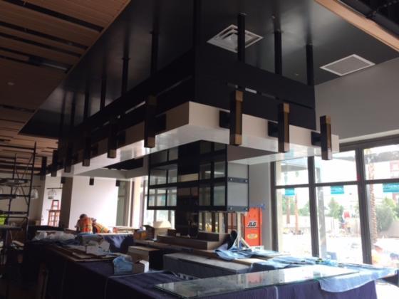 ISMH Light Fixtures at Bar