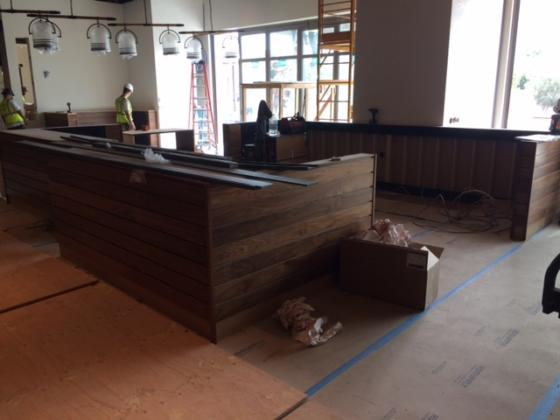 ISMH Booth Install at Restaurant