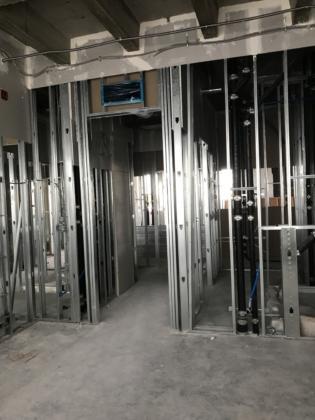 6th Floor Guestroom Framing