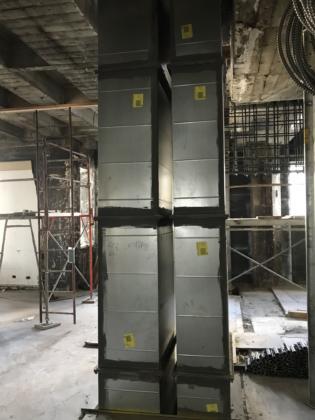 3rd floor HVAC Shaft
