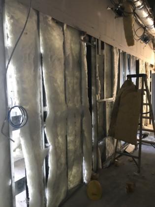 9th floor corridor insulation