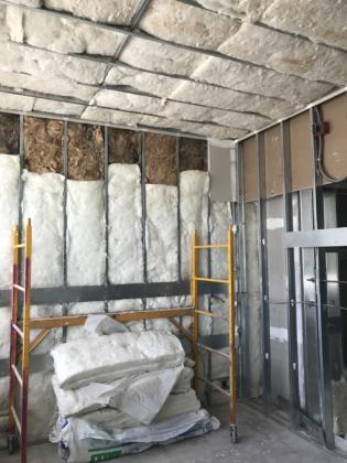 8th Floor GR Insulation