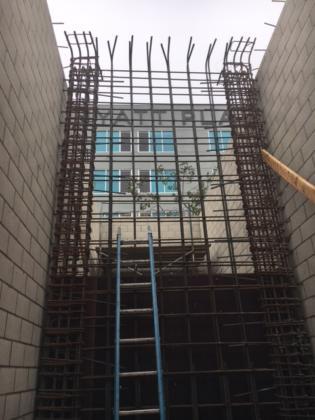 Stair 2 Shear Wall Rebar