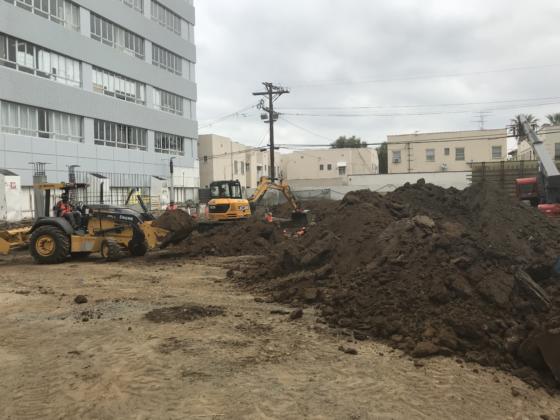 Parking lot Excavation