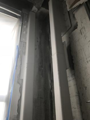 10th floor H1 Column intumescent paint