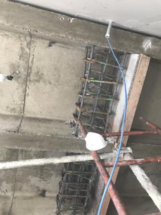 10th drag beam rebar
