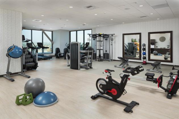 H Hotel gym