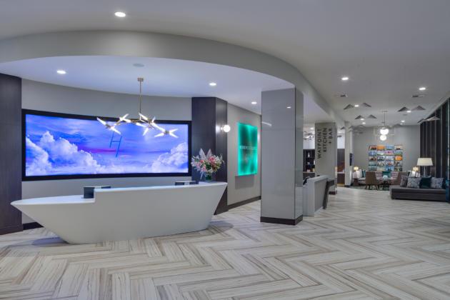 H Hotel lobby