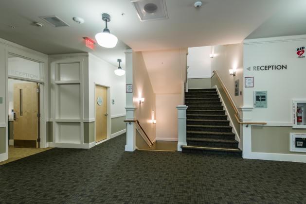 Reeves Main lobby